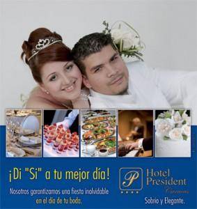 Bodas en el Hotel President Caracas