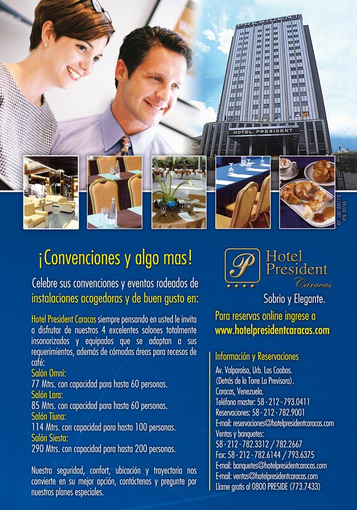 Salones Hotel President Caracas